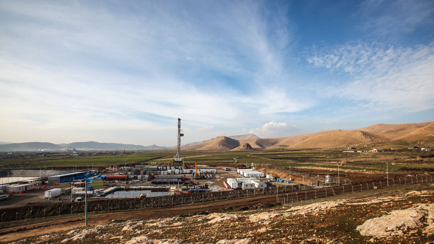 A rig at the Miran field, which is operated by London-listed Genel Energy. (Source: Genel Energy)