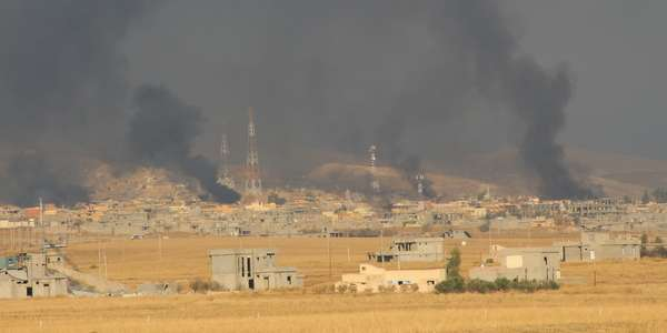 Kurds retake a ruined Sinjar