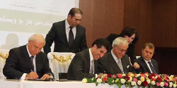 Kurdistan signs first gas sales contract