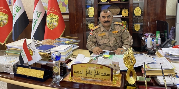 Q&A: Lt. Gen. Saad Ali Aati al-Harbiya, former head of Kirkuk's Joint Operations Command